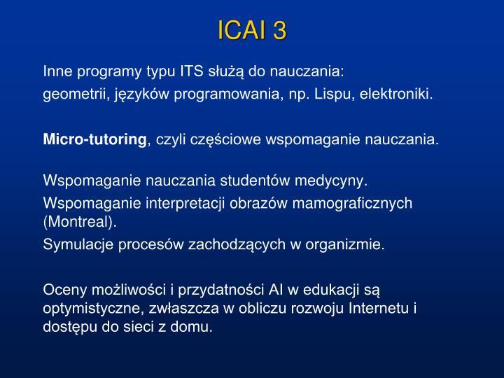ICAI 3