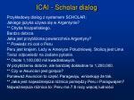 icai scholar dialog