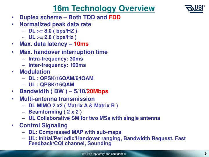 16m Technology Overview