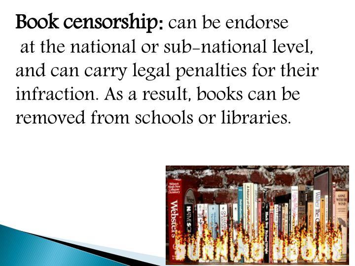 Book censorship