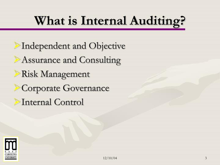 What is Internal Auditing?