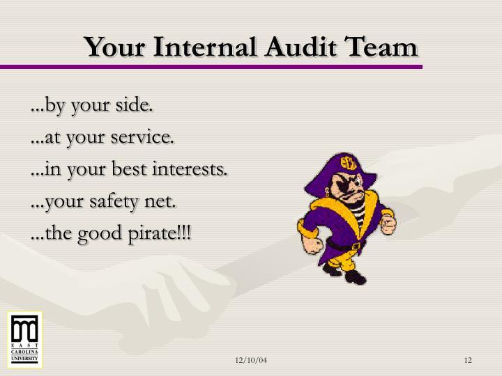 Your Internal Audit Team