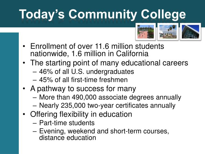 Today's Community College