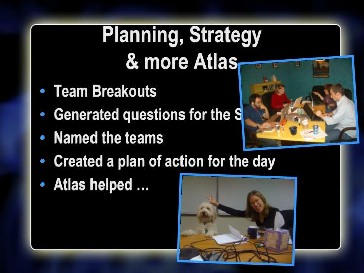 Planning, Strategy
