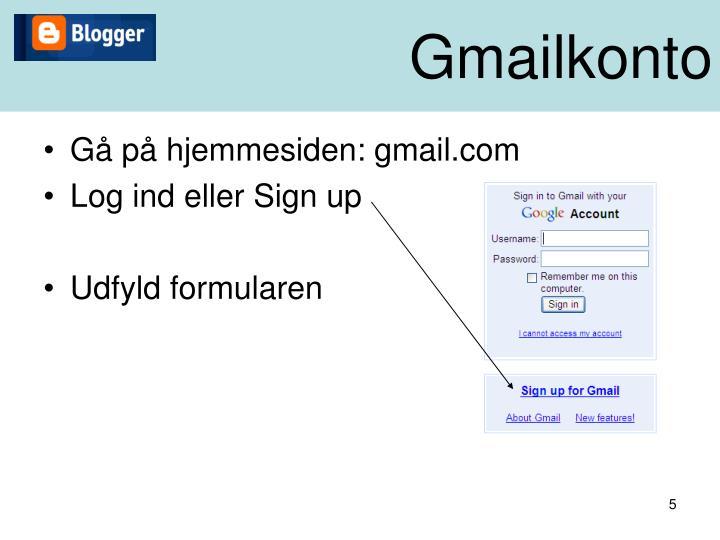 Gmailkonto