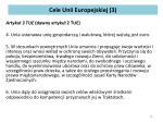 cele unii europejskiej 3