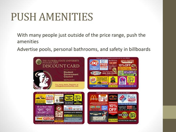 PUSH AMENITIES