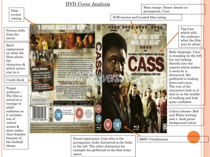 DVD Cover Analysis