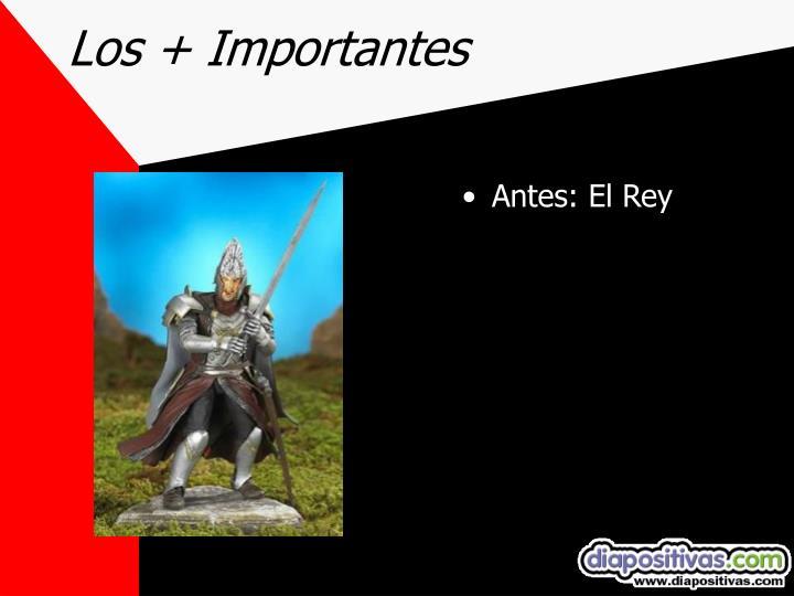 Los + Importantes