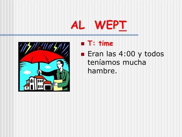 AL  WEP