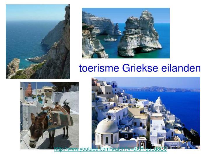toerisme Griekse eilanden