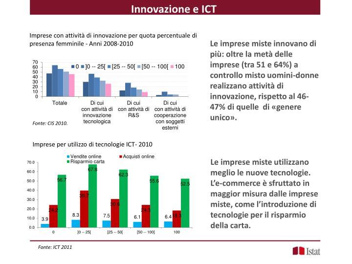 Innovazione e ICT