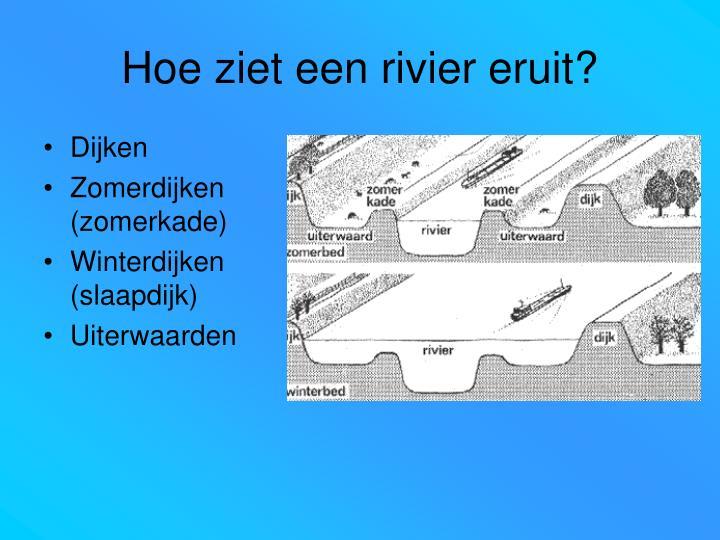 Hoe ziet een rivier eruit?