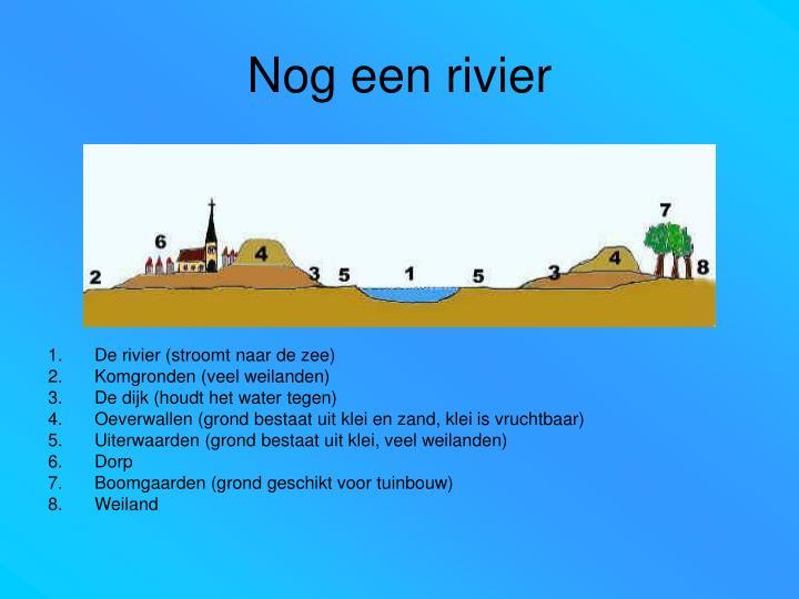 Nog een rivier