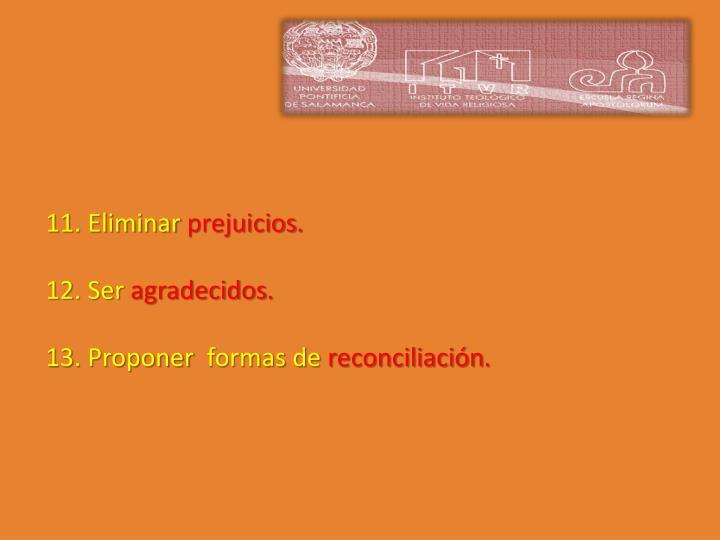 11. Eliminar