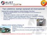 taxi collettivo esempi nazionali ed internazionali2