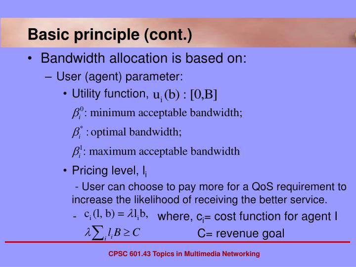 Basic principle (cont.)