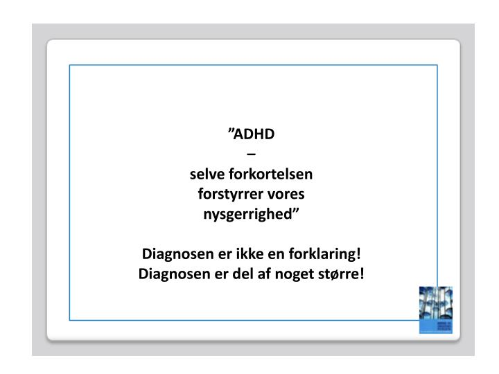 """ADHD"