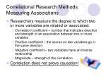 correlational research methods measuring associations