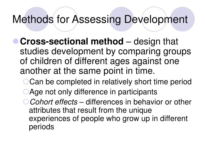 Methods for Assessing Development