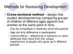 methods for assessing development