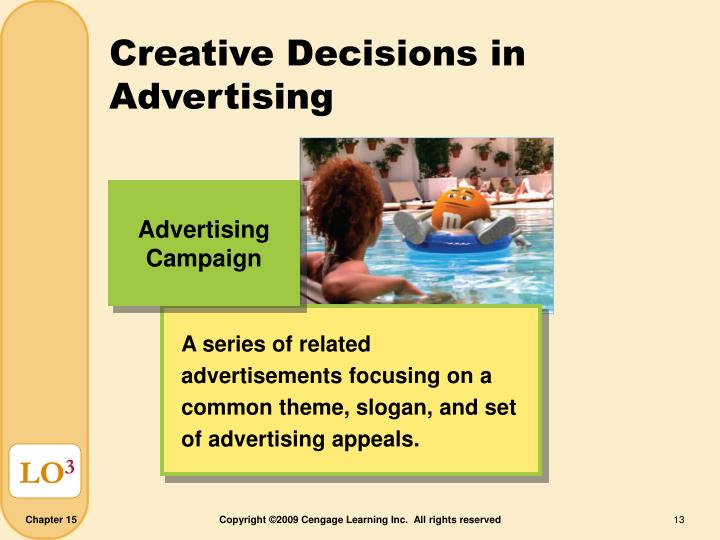 Creative Decisions in Advertising