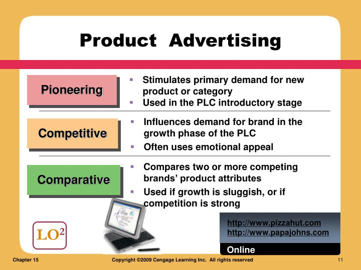Stimulates primary demand for new product or category