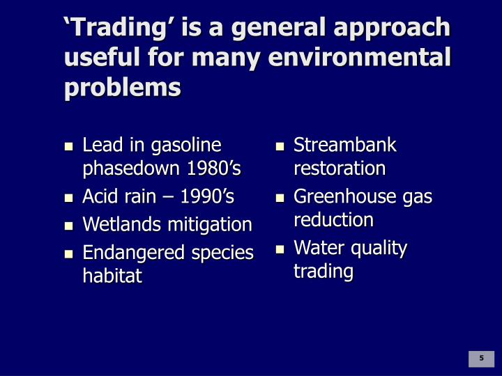 Lead in gasoline phasedown 1980's