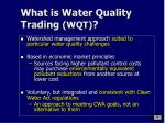 what is water quality trading wqt