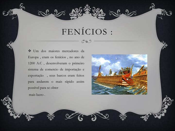 Fenícios :