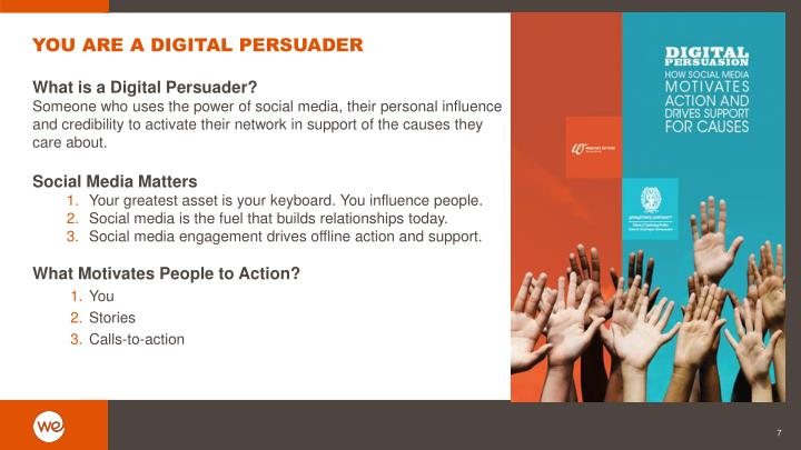 YOU ARE A DIGITAL PERSUADER