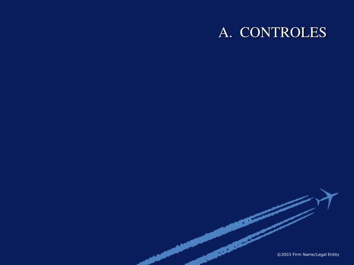 A.  CONTROLES