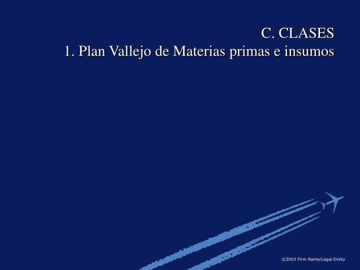 C. CLASES