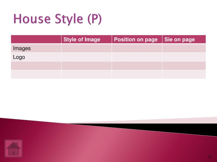 House Style (P)