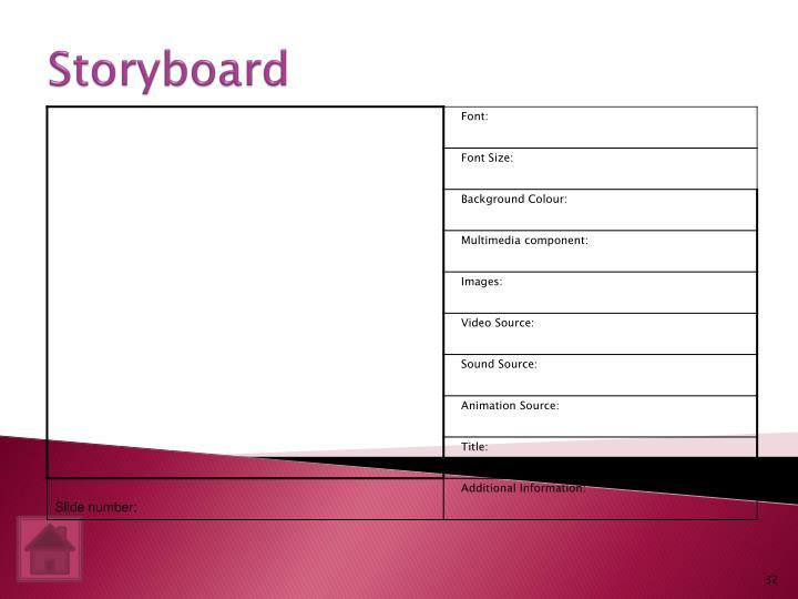 Storyboard