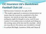 cic insurance ltd v bankstown football club ltd 1997 187 clr 384