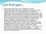 lord reid again