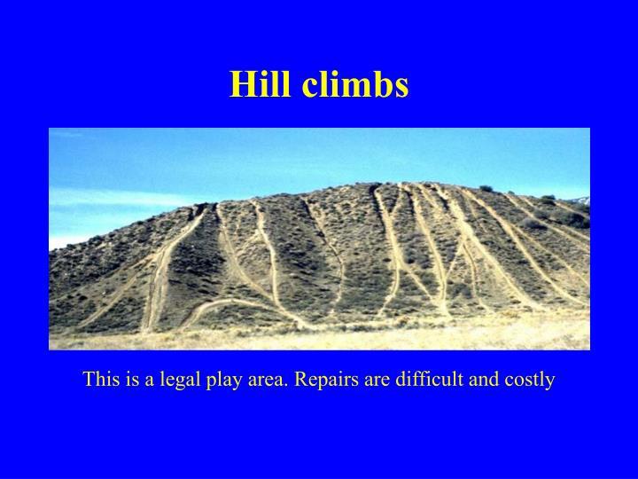 Hill climbs