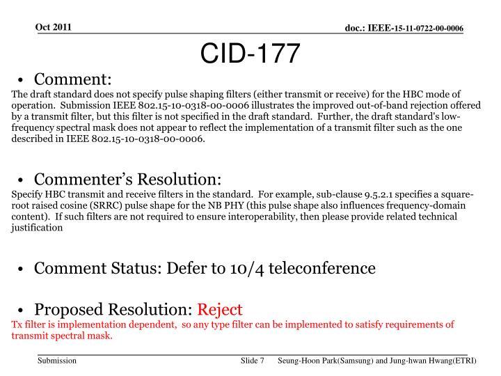 CID-177