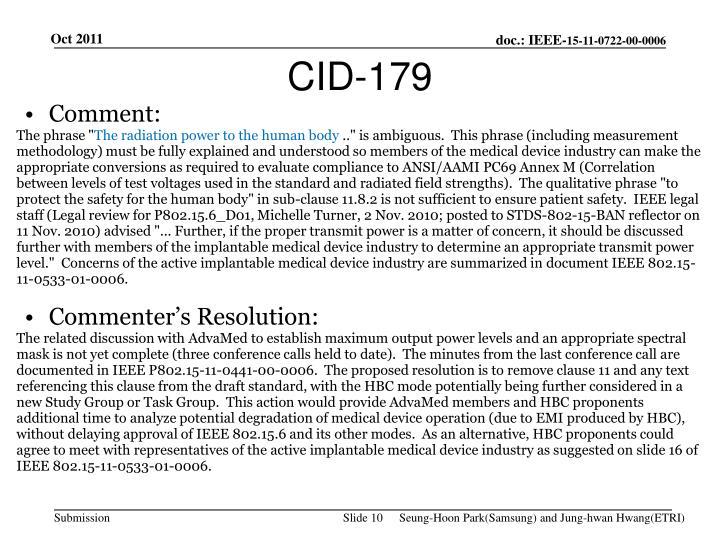 CID-179