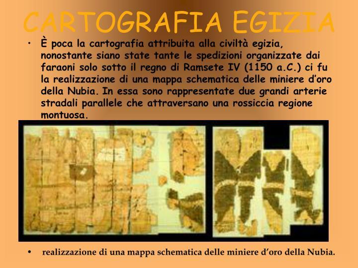 CARTOGRAFIA EGIZIA