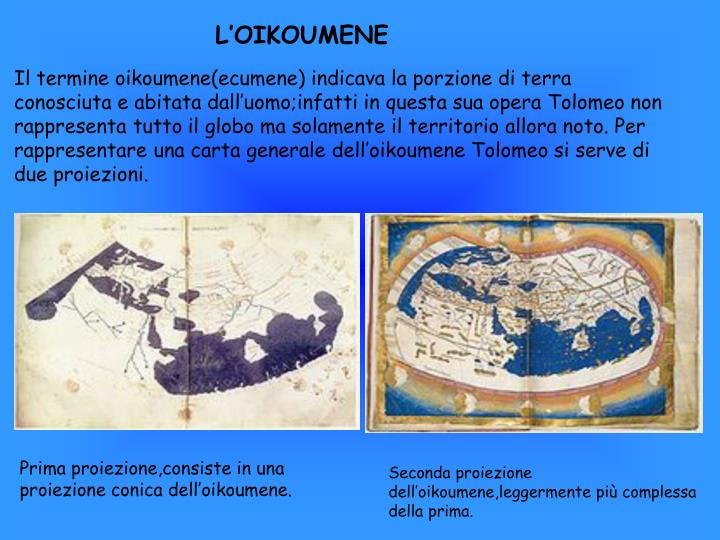 L'OIKOUMENE