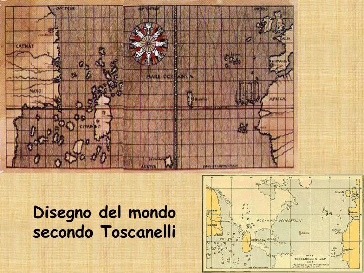 Disegno del mondo secondo Toscanelli