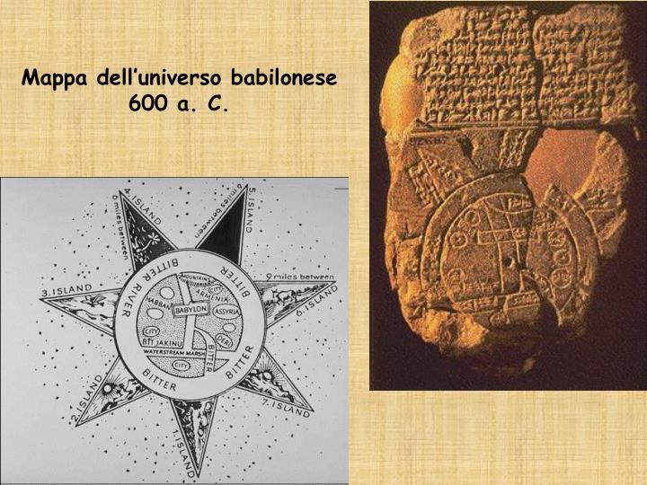 Mappa dell'universo babilonese