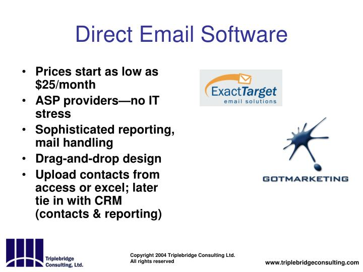 Direct Email Software