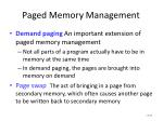 paged memory management2