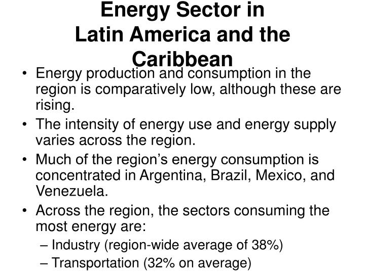 Energy Sector in