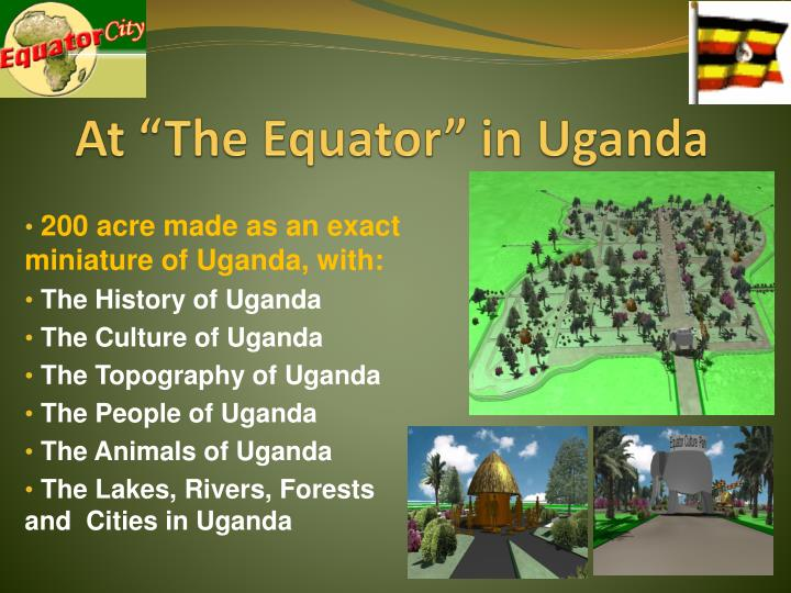 "At ""The Equator"" in Uganda"