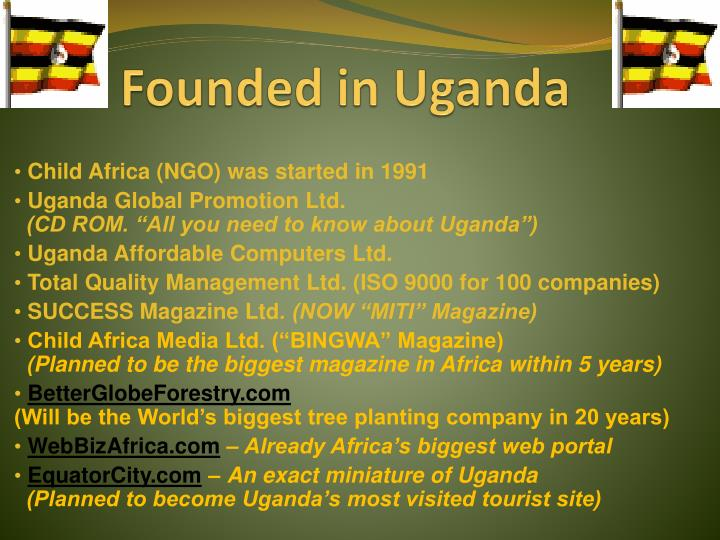 Founded in