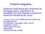 pratiche integrative
